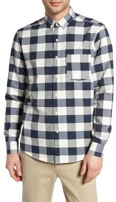 Topman Check Twill Shirt