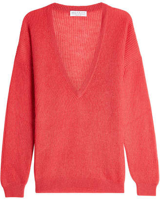 Brunello Cucinelli Pullover with Mohair and Wool