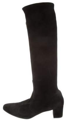LK Bennett Suede Knee-High Boots