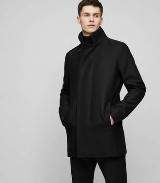 Reiss Curraghmore Funnel Collar Jacket