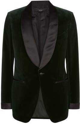 Tom Ford Shelton Velvet Tuxedo Jacket