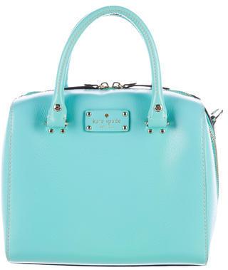 Kate Spade New York Wellesley Alessa Satchel $125 thestylecure.com