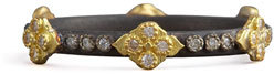ArmentaArmenta Crivelli Cross Diamond Ring, Silver