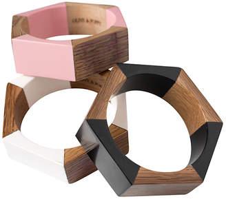 Olive And Poppy Wine Barrel Bracelet