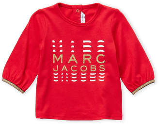 Little Marc Jacobs Newborn/Infant Girls) Graphic Long Sleeve Tee