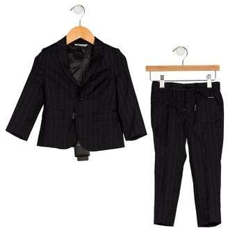 Dolce & Gabbana Boys' Two-Piece Suit Set w/ Tags