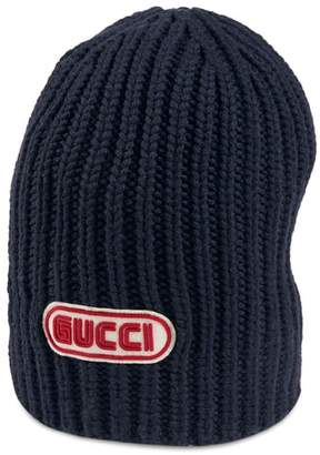 Gucci New Logo Wool Beanie