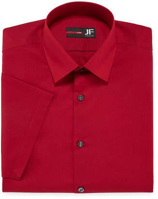 Jf J.Ferrar JF Short-Sleeve Slim Fit Dress Shirt