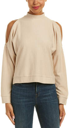 Moon River Cold-Shoulder Top