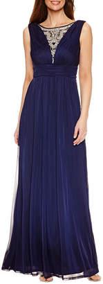 Oceanaut Melrose Sleeveless Embellished Evening Gown