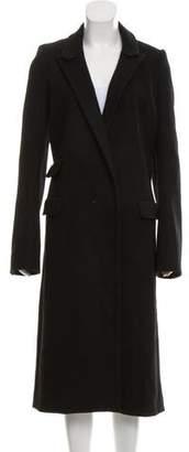 Thierry Mugler Peak-Lapel Long Coat