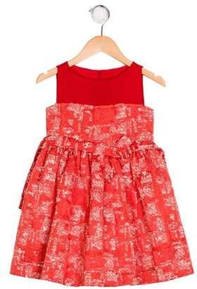 Carrera Pili Girls' Printed Flared Dress