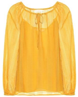 Tory Burch Natalie silk blouse