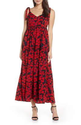 CAARA Steffi Floral Print Maxi Dress