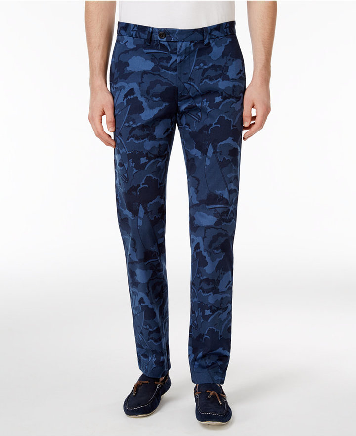 Brooks Brothers Brooks Brothers Red Fleece Men's Slim-Fit Camo Chinos