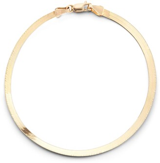 Lana Casino Herringbone Chain Bracelet