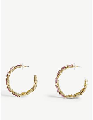 BaubleBar Isadora hoop earrings