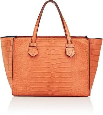 Moreau Paris Women's Brégançon Crocodile Zip Tote Bag