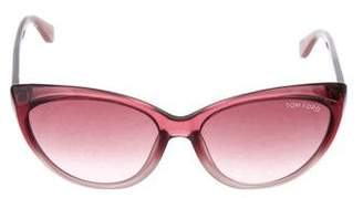Tom Ford Martina Cat-Eye Sunglasses