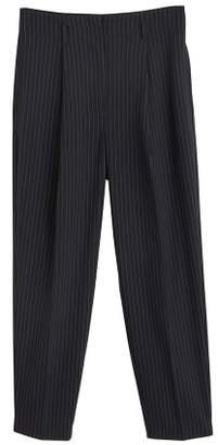 MANGO Pinstripe suit pants