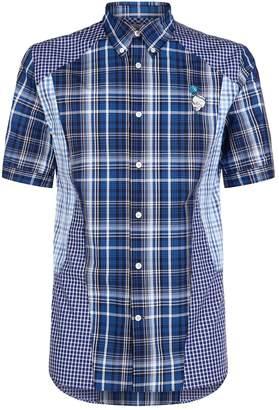 Alexander McQueen Patchwork Check Shirt