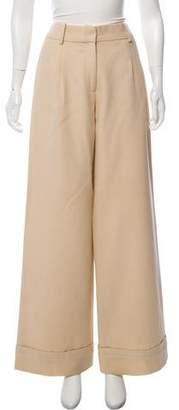 Marc Jacobs Wool Wide-Leg Pants