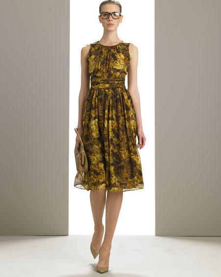 Michael Kors Magnolia Twirl Dress
