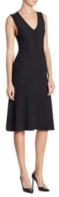 Saks Fifth Avenue COLLECTION Ribbed A-Line Dress