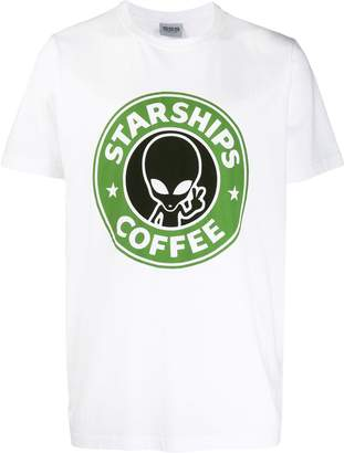 SSS World Corp printed cotton T-shirt