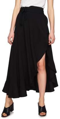 1 STATE 1.STATE Ruffle Wrap Maxi Skirt