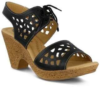 Spring Step Lamay Platform Sandal