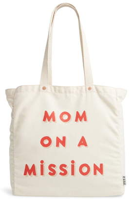FEED Mom on a Mission Canvas Tote