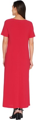 Linea By Louis Dell'olio by Louis Dell'Olio Petite Moss Crepe Maxi Dress