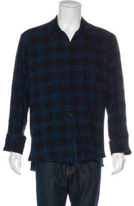 Greg Lauren 2014 Woven Flannel Shirt