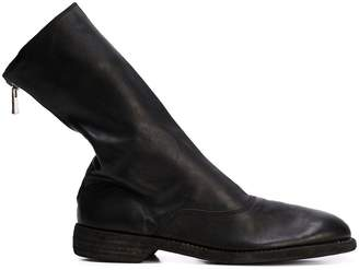 Guidi mid-calf zipped boots