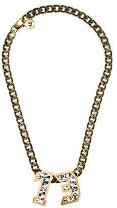 Lanvin Crystal Macao Collar Necklace