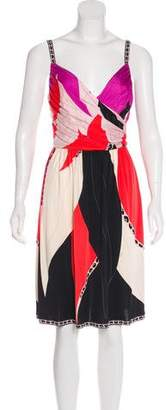 Emilio Pucci Silk Sleeveless Dress