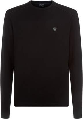 Giorgio Armani Long Sleeve Logo T-Shirt
