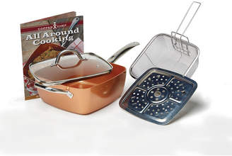 Impulse As Seen On TV Copper Chef 5-pc. Deep Dish Cookware Set