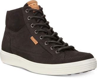 Ecco Men Soft 7 High Top Sneakers Men Shoes