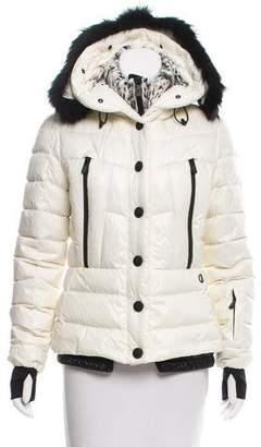Moncler Beverhill Fur-Trimmed Jacket