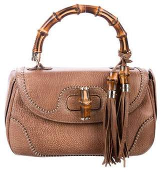 8262445bbae1 Gucci Bamboo Handle Handbag - ShopStyle