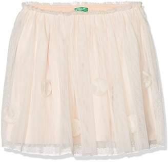 Benetton Girl's Skirt,One (Size: Large)