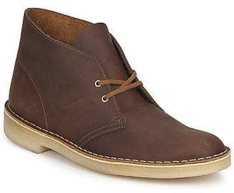 ac969577b Clarks Brown Desert Boots For Men - ShopStyle UK