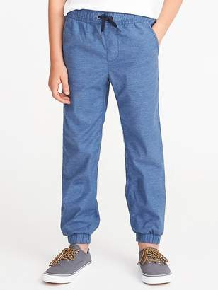 Old Navy Built-In Flex Flat-Front Joggers for Boys