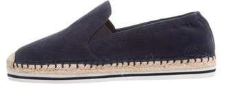 Tory Burch Suede Espadrille Flats