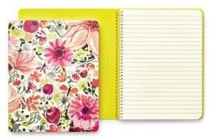Kate Spade Dahlia Concealed Spiral Notebook