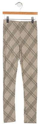 Imoga Girls' Plaid Leggings