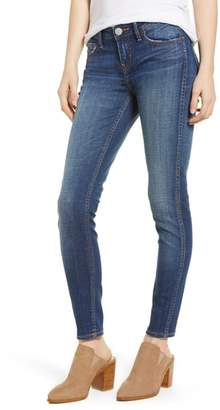 True Religion Brand Jeans Halle Mid Rise Super Skinny Jeans