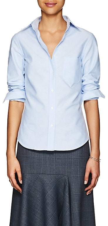 Women's Cotton Button-Down Shirt